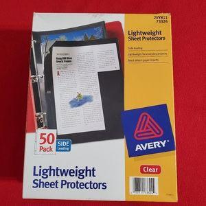3 bx.•AVERY•Sheet Protectors•side load•50pk•
